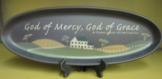 """God of Mercy"" Plate"