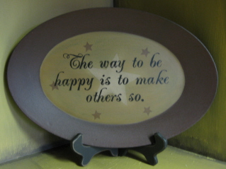 Make others Happy Plate