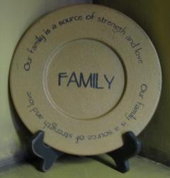 Family strength Plate