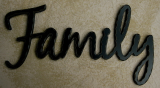 Family Word, black