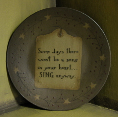 Sing Anyway Plate