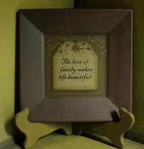 Love of a family Plate