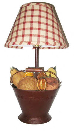 Apple Bucket Lamp